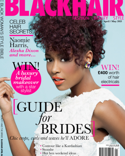 Blackhair Magazine – Bridal Issue Front Cover