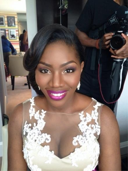 How To Apply Bridal Makeup For Black Skin : Joy Adenuga Makeup Artist london black bridal makeup ...