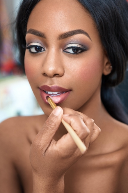 Dark Lipstick Wedding Makeup : Joy Adenuga Makeup Artist Joy Adenuga Makeup Artist - Page ...