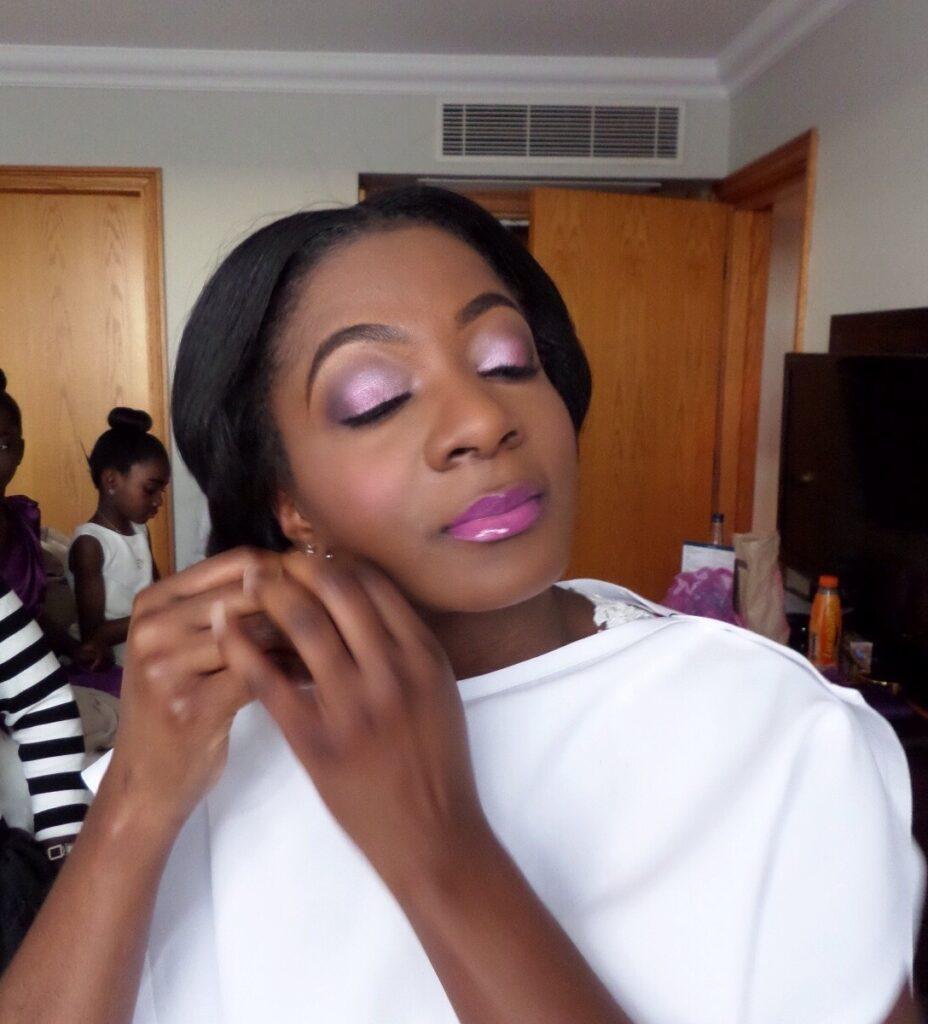 makeup artist for black skin