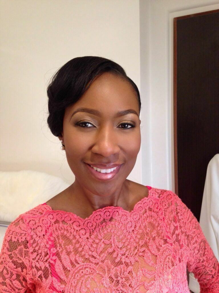 black makeup artist london, wedding makeup artist for dark skin, south african bride london, black bridal makeup artist london