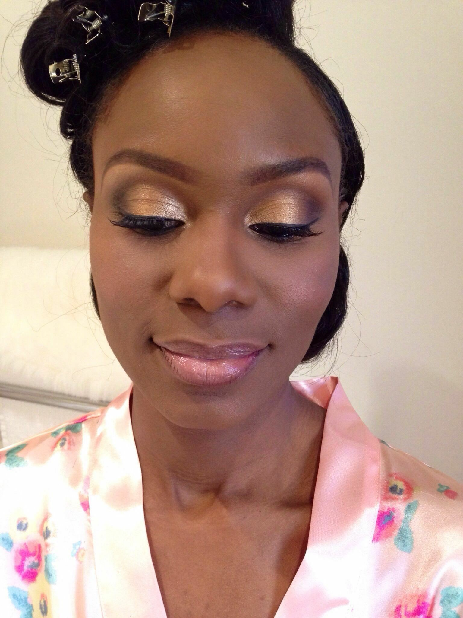 Joy Adenuga Makeup Artist U00bb Black Wedding Makeup London