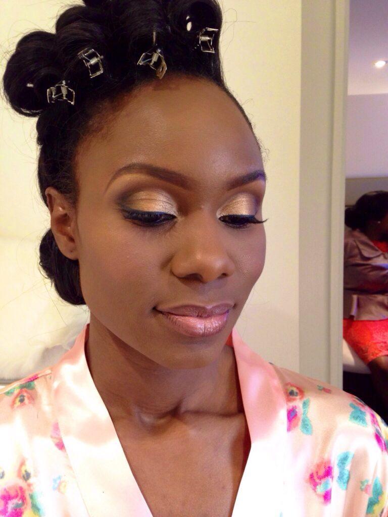 black makeup artist london, wedding makeup artist for dark skin, south african bride london, black bridal makeup artist londo