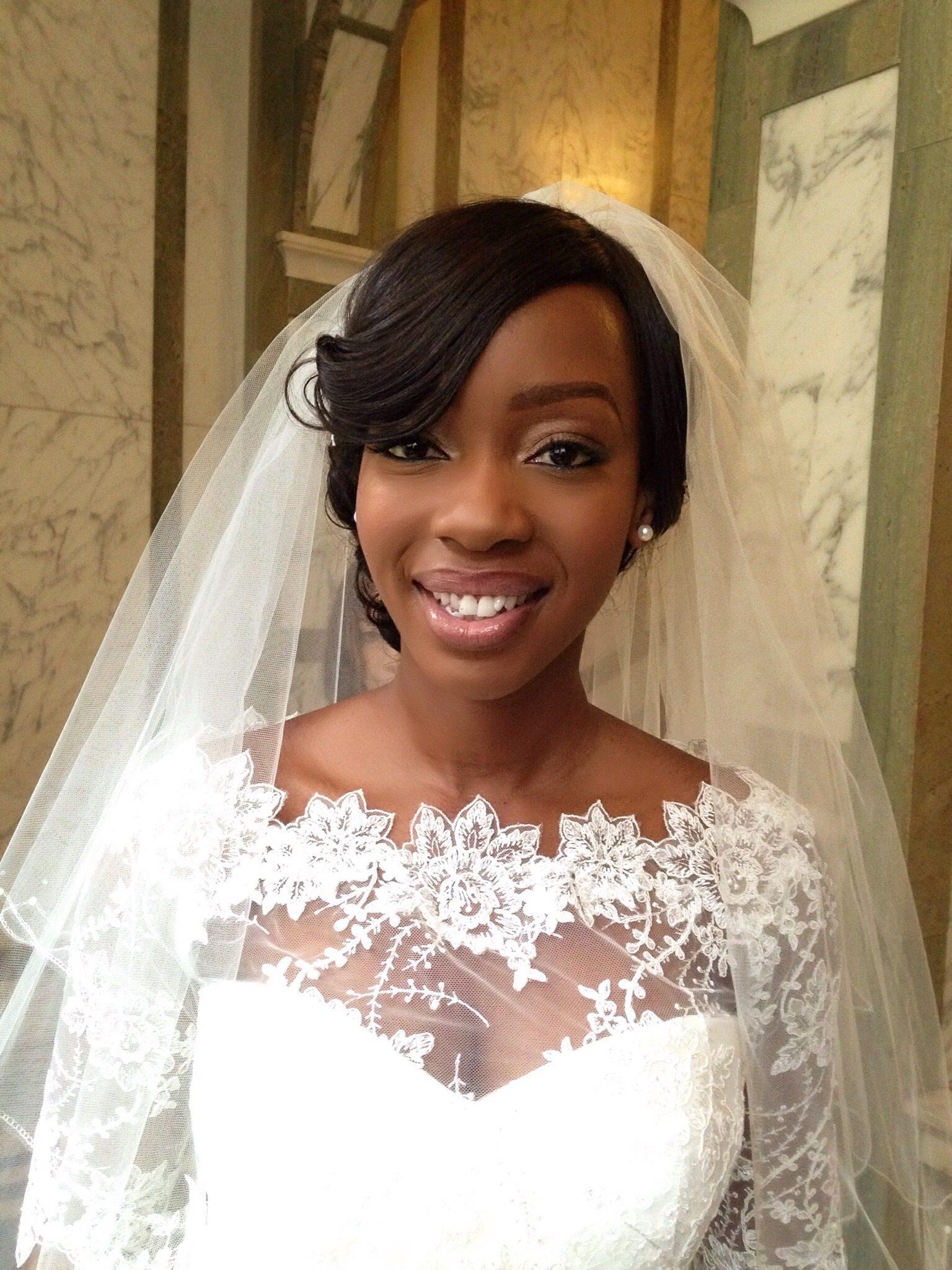 Joy Adenuga Makeup Artist 187 Black Wedding Bridal Makeup