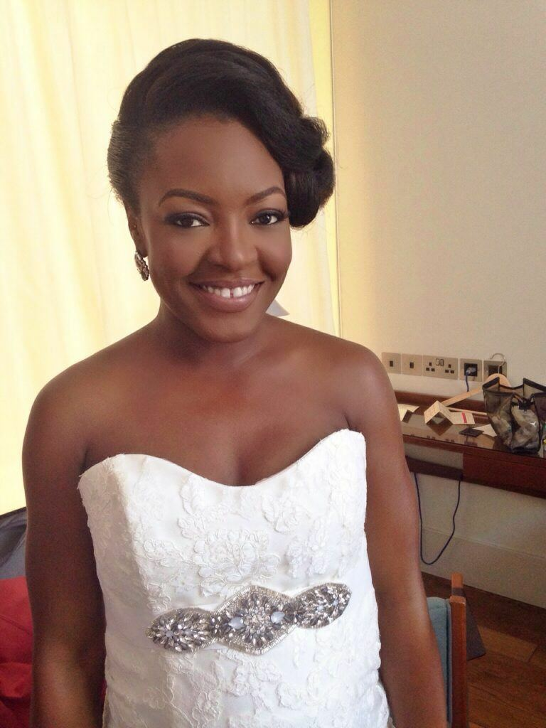 black makeup artist london, makeup artist for black skin, wedding makeup artist for dark skin, nigerian bride, bridal black makeup artist, joy adenuga, black bridal blog uk, natural makeup for black brides, nude lips for black brides