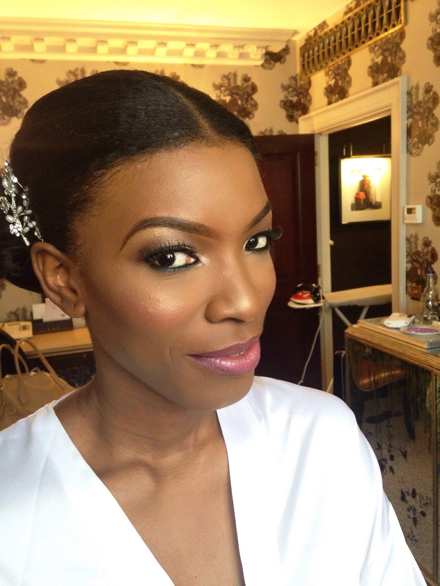 ... ijay 39 s wedding london black makeup artist black makeup artist london black wedding makeup ...