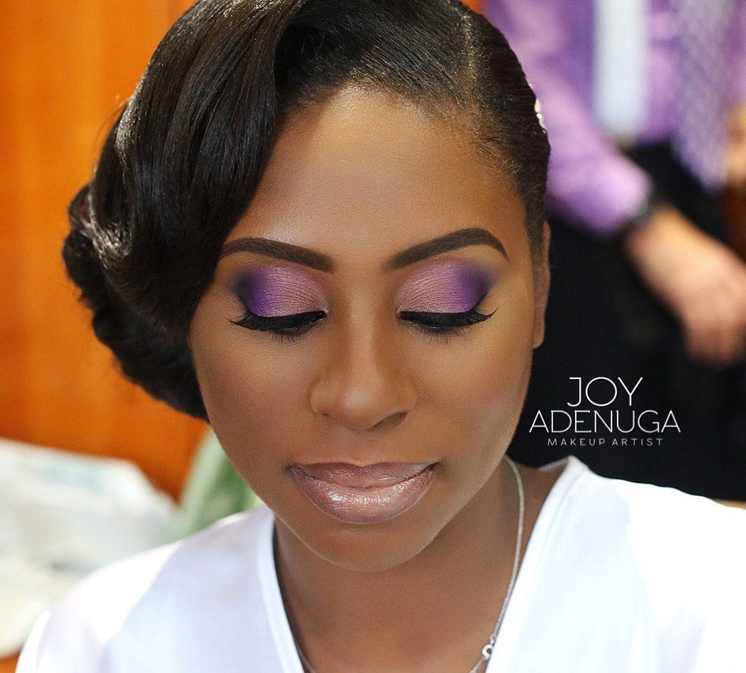 Dark Purple Bridal Makeup : Wedding Makeup For Brown Eyes And Brown Skin Images ...