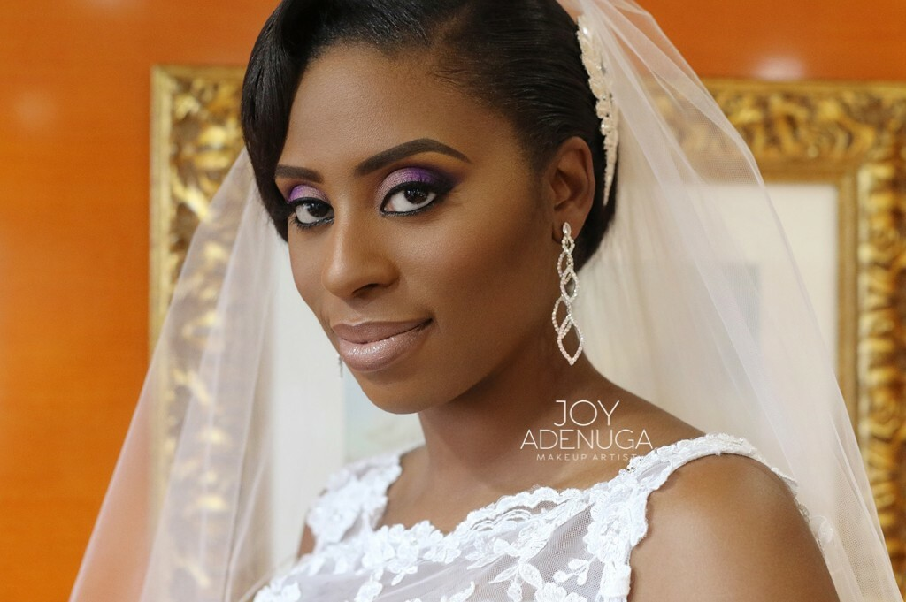 Dark Purple Bridal Makeup : Naiomis Wedding