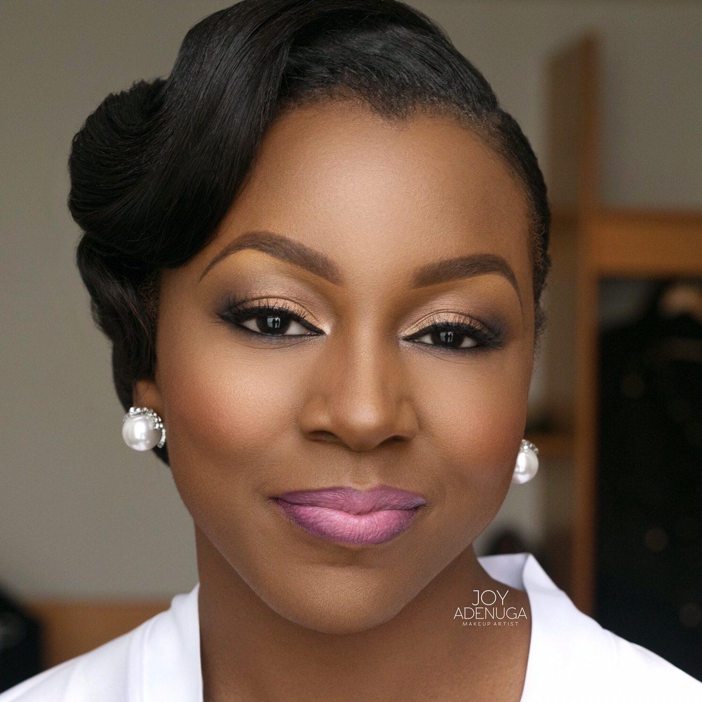 Bridal Makeup Tutorial For Dark Skin : Wedding Day Makeup For Black Brides - Mugeek Vidalondon